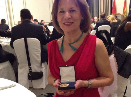 Medalla de Oro Foro Europa 2001, Madrid